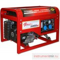 Генератор бензиновый DDE DPG 7551 E (ген.230В,5кВт/6кВА,двиг.13л.с/9.5кВт,25л/8.9час,стартер)
